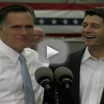 Mitt Romney Introduces Paul Ryan