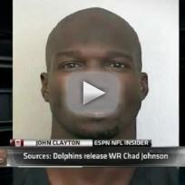 Chad Johnson Released By Miami Dolphins