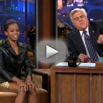 Gabby Douglas and Michelle Obama on the Tonight Show, Part 2