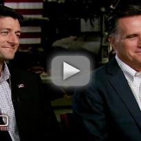 Paul Ryan, Mitt Romney on 60 Minutes