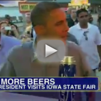 Obama at Iowa State Fair