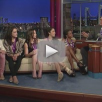 Us womens gymnastics team on letterman