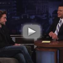 Robert Pattinson on Jimmy Kimmel Live (Part 2)