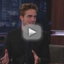 Robert Pattinson on Jimmy Kimmel Live (Part 1)
