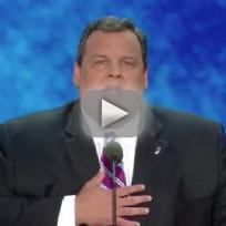 Chris christie republican national convention speech