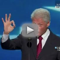 Bill Clinton Democratic National Convention Speech
