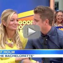 Emily maynard jef holm good morning america interview