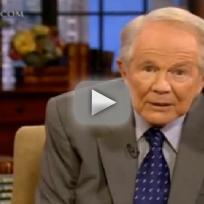 Pat robertson to caller become muslim beat wife