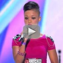 Paige Thomas X Factor Audition