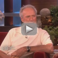 Clint eastwood on ellen