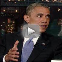 President Obama on Letterman