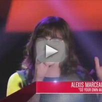 Alexis Marceaux - Go Your Own Way (The Voice Blind Audition)