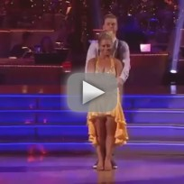 Shawn Johnson - Dancing With the Stars Week 1