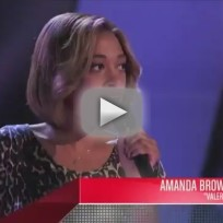 Amanda Brown - Valerie (The Voice Blind Audition)