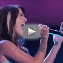 Cassadee pope torn the voice blind audition