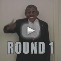 Obama Masks vs. Romney Masks