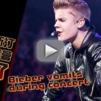Justin Bieber: Animated Vomit