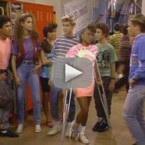 Lark Voorhies on Saved By the Bell