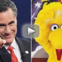 Mitt Romney on Sesame Street