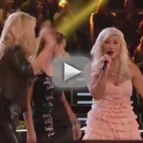 "2Steel Girls vs. Gracia Harrison - ""Sin Wagon"" (The Voice Battle Round)"