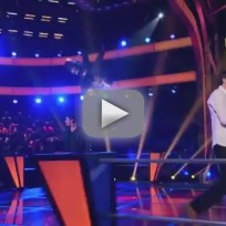 "Bryan Keith vs. Collin McLoughlin - ""Santeria"" (The Voice Battle Round)"