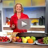 Ann romney makes welsh cakes on gma