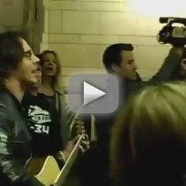 Rick springfield jessies girl live in nyc subway