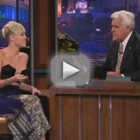 Miley Cyrus on The Tonight Show