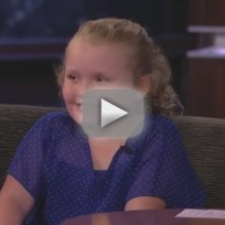 Honey Boo Boo on Jimmy Kimmel Live (Part 1)