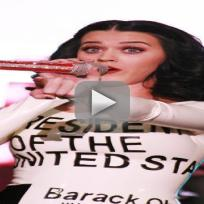 Katy Perry Supports Obama