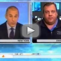 Chris Christie on The Today Show