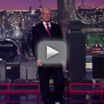 David Letterman Monologue: No Audience