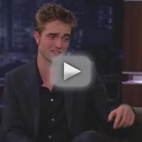 Robert Pattinson on Jimmy Kimmel (Part 2)