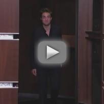 Robert Pattinson on Jimmy Kimmel (Part 1)
