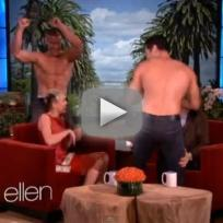 Miley Cyrus Bachelorette Party on Ellen