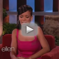 Rihanna on Ellen - Who's She Dating?