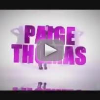 """Paige Thomas - """"Paradise"""""""