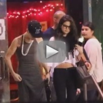 Justin Bieber-Selena Gomez Date Night Fight