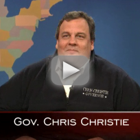 Chris christie on saturday night live