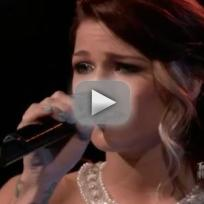 Cassadee pope over you the voice