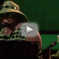 Cee lo green ft kermit the frog bein green live on the voice