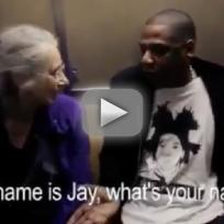 Jay Z Makes a New Friend On The Subway