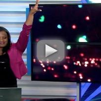 News Anchor Dances During Commercial