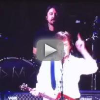 Nirvana paul mccartney performance