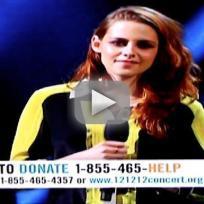 Kristen Stewart at 12-12-12 Concert For Sandy Relief