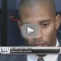 Victor Cruz Tribute to Sandy Hook Victim