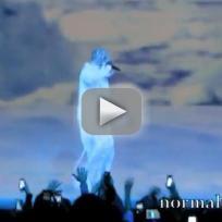 Kanye West, Crystal Mask in Atlantic City