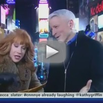 Kathy griffin fakes oral sex on anderson cooper