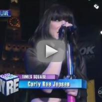 Carly rae jepsen call me maybe slash this kiss new years eve