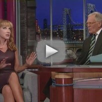Kathy Griffin on The Late Show